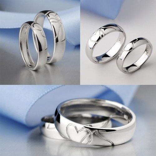 925 Sterling Silver White Gold Plated