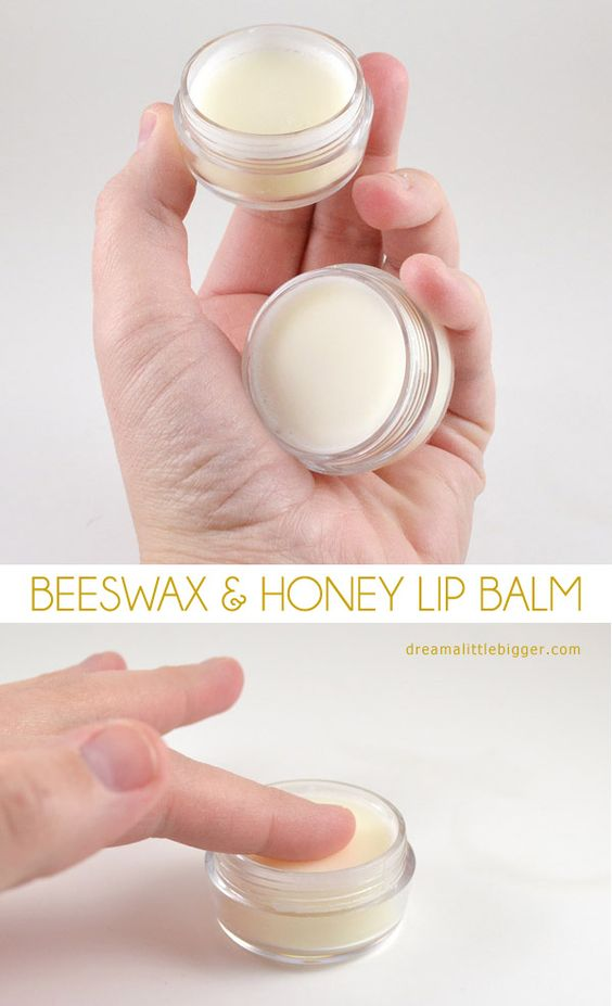 This beeswax and honey lip balm is divine! Plus a little add in makes it great for cold sores!