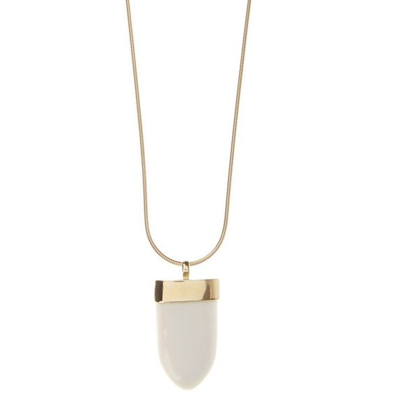 Isabel Marant Abou bone-pendant necklace ($150) ❤ liked on Polyvore featuring jewelry, necklaces, cream, boho necklace, brass jewelry, isabel marant jewelry, drop pendant necklace and bohemian style jewelry
