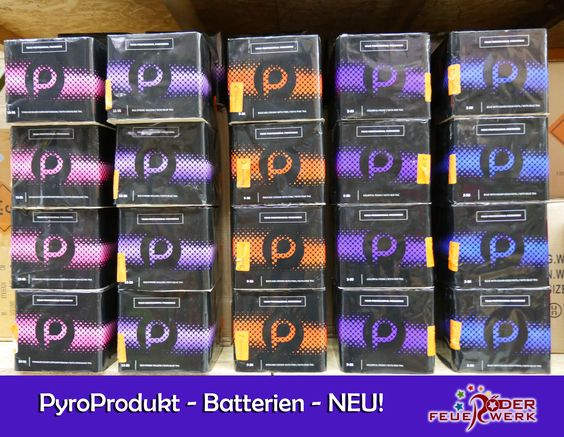 Batterien von Pyroprodukt sind jetzt in 10 Variationen im #Onlineshop erhältlich! #Feuerwerksbattrie mit 35 bzw. 36 Schuss mit verschiedenen Effekten verfügbar! #Feuerwerk, #Röder, #Silvester