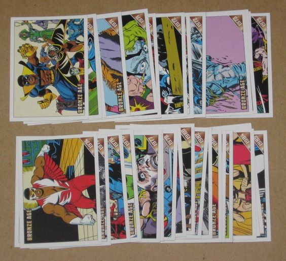 Marvel Bronze Age (Rittenhouse 2012) Lot of 32 Cards EX