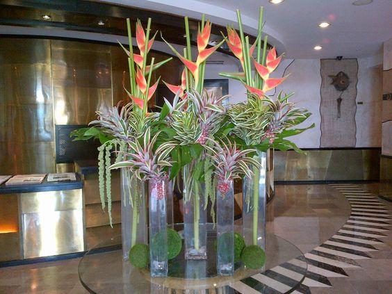 Lobby Floral Arrangements Hospitality Pinterest