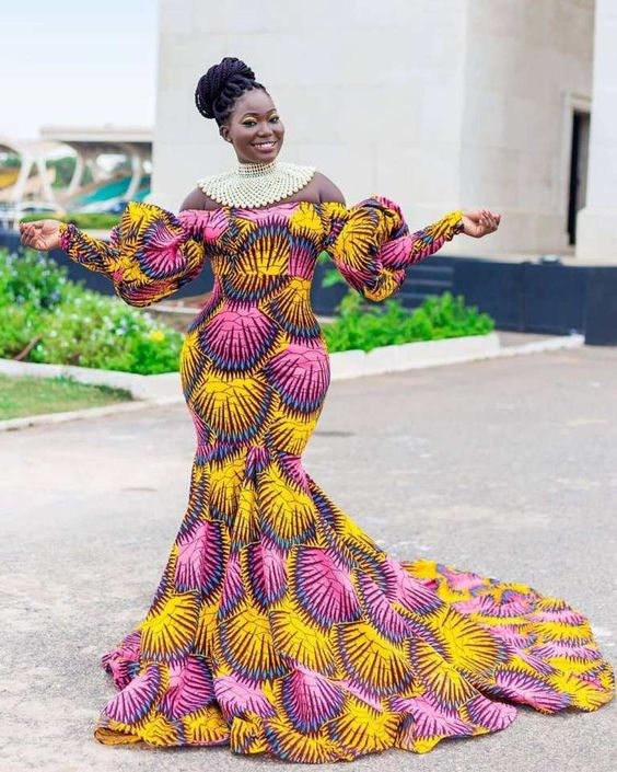 Different Ankara fashion styles, look gorgeous - Reny styles