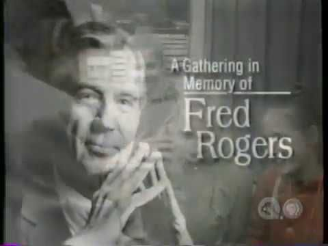 Fred Rogers Full Memorial Service Pittsburgh 2003 Fred Rogers Memorial Service Mister Rogers Neighborhood