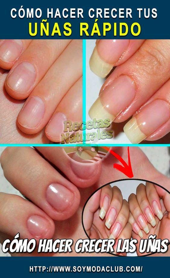 Cómo Hacer Crecer Tus Uñas Rápido Y Fuertes Manicure Nail Art Hacks Nails