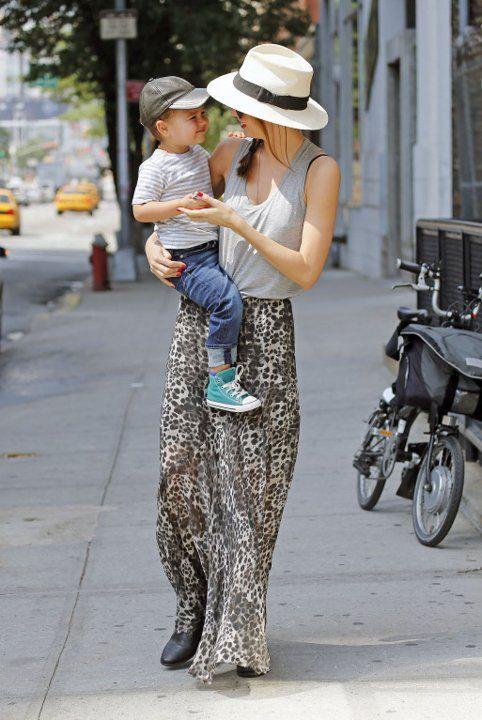 Miranda Kerr & Flynn :)