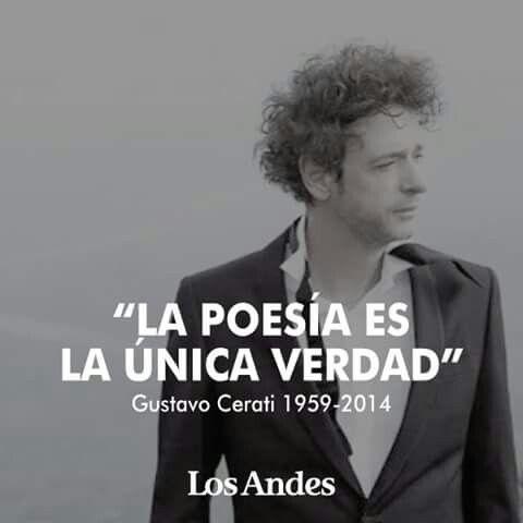 La poesía. ..