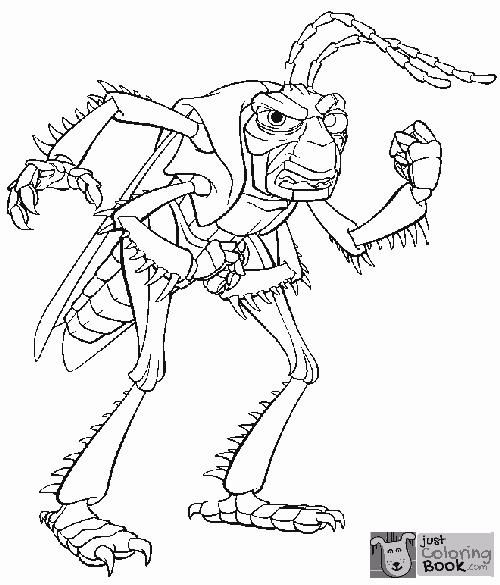 A Bug039s Life Hopper Angry A Bug039s Life Coloring Pages With Regard To Grasshopper Bugs Life Coloring Pages Download More Free Printable Hd Images For A Bug