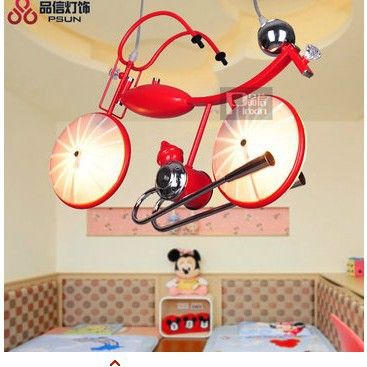 Aliexpress.com : Buy Children droplight Modern motorcycle Lamps and lanterns of study of the bedroom and lighting  from Reliable lantern ship suppliers on jiangdu liang's store  | Alibaba Group