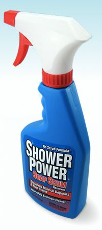 Shower Power Bathroom Cleaner - THE GREATEST BATHROOM CLEANING PRODUCT EVER!!!
