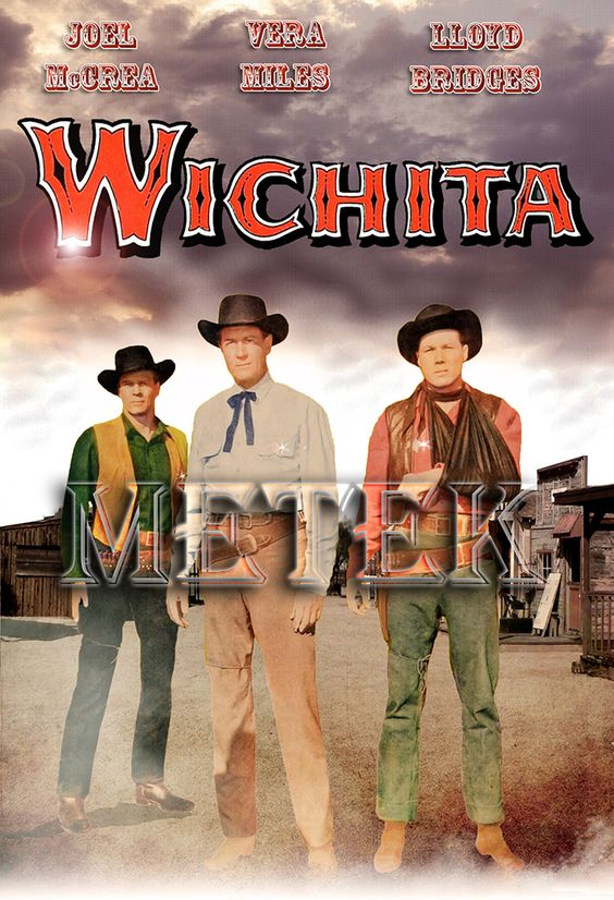 Wichita (1955) Dvd Front Cover! Pinterest