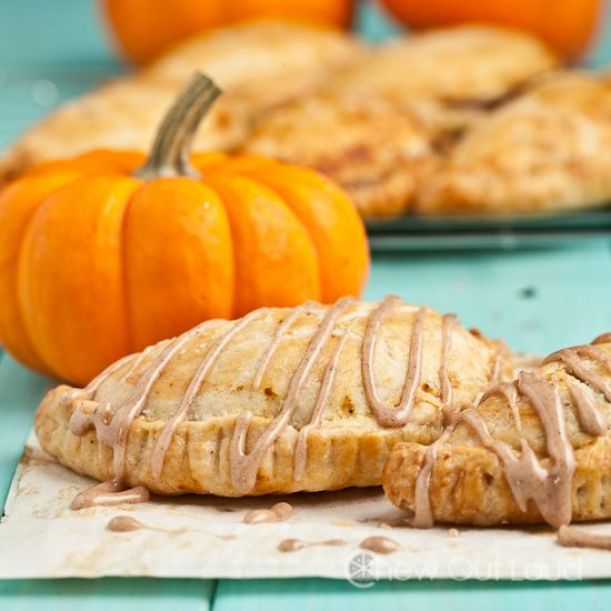 Pumpkin Pasties (Hand Pies) - Chew Out Loud