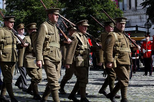 """WW1 Liverpool """"Pals"""" remembered"""