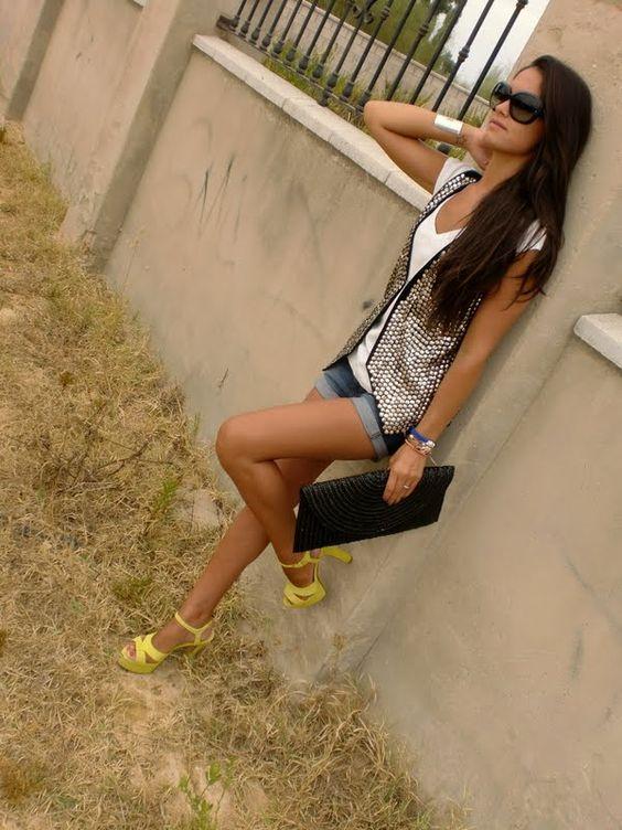 Susan´s Style: Chaleco de Lentejuelas
