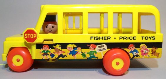 Fisher Price Little People School Bus-My Mom sold this to another child's mother and I was crushed.  I cried so hard that she called to try to get it back but the other child had already seen it.  She ended up giving me the money to go buy a replacement but I spent it on something else instead.  Isn't love fleeting??