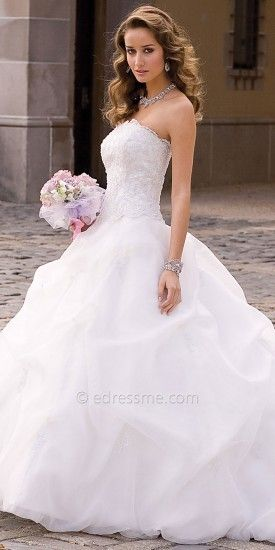 Christian michele from camille la vie organza wedding for Camille la vie wedding dresses
