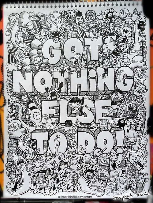 cool random doodle | Be Inspired | Pinterest | Awesome ...