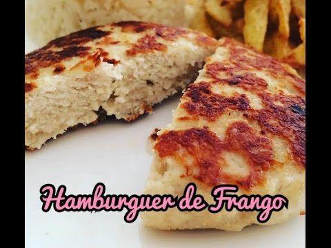 O que cozinhar hoje?: Hamburguer de Frango