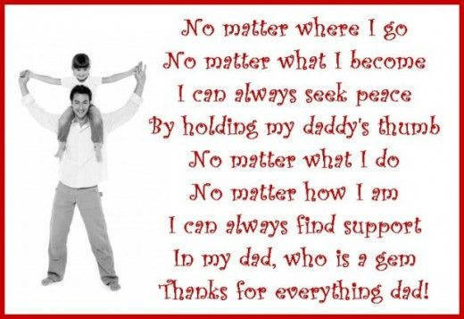 Thank You Messages For Dad Poems And Quotes To Write On A Thank