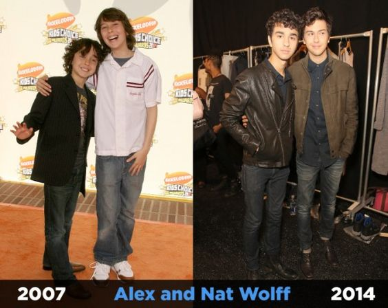 Alex and Nat Wolff have aged so well!   Fanlala.com