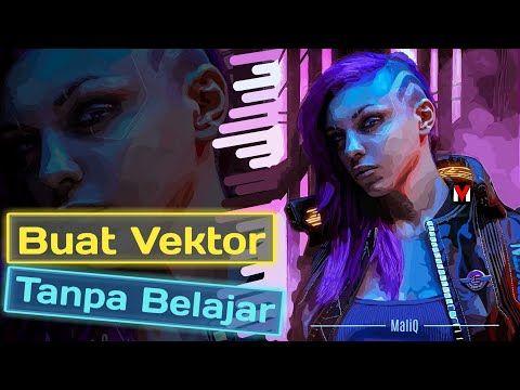 Membuat Vektor Tanpa Teknik Shading Apa Bisa Youtube Desain Vektor Teknik Photoshop