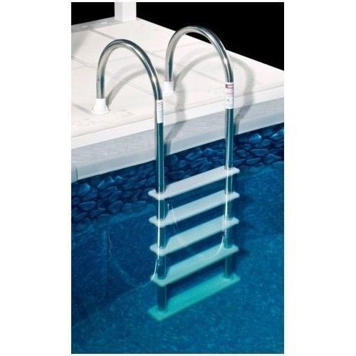 Steel Pool Ladder Stainless Above Ground Deck Swim Backyard Supplies Accessories Water Rays