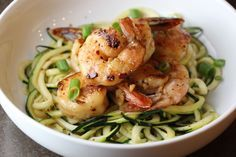 Sesame Shrimp and Zoodles | The Defined Dish