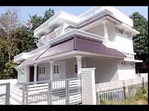 Edapally Varapuzha New House For Sale 5 38 Cent 2450 Sqft 4 Bhk 83 Lakhs Fixed Youtube New Homes Architecture Outdoor Decor