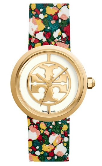 confetti strap Tory Burch watch