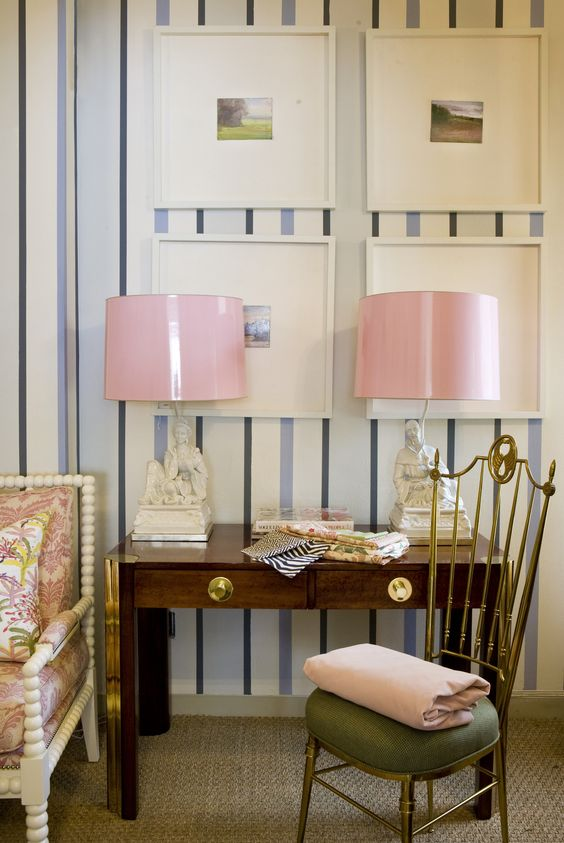 We swoon for the pink shades. Ruthie Sommers
