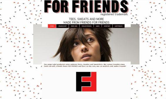 FOR FRIENDS FASHION: Unsere Homepage glänzt im neuen Style