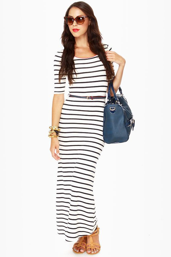 Pair a simple casual dress with great accessories