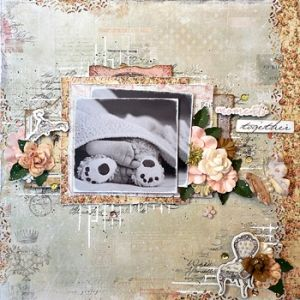 My Creative Scrapbook August- Limited Edition Kit Scrapbooking, Mixed Media, Prima Marketing