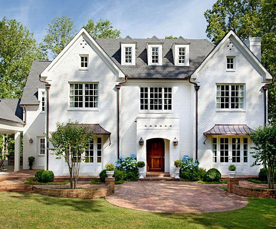 Best Roof Designs And Styles Brick Home Exteriors Copper And 400 x 300
