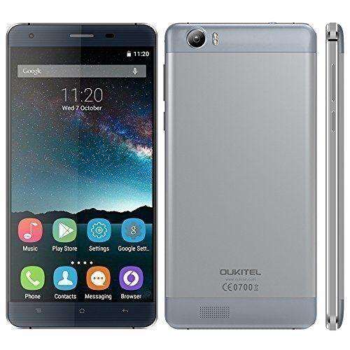 "OUKITEL K6000 4G FDD-LTE Smartphone MTK6735 64-bit Quad Core 5.5"" HD IPS Android 5.1 2G+16G 13MP Cámaras Duales Batería de Alloy Frame"