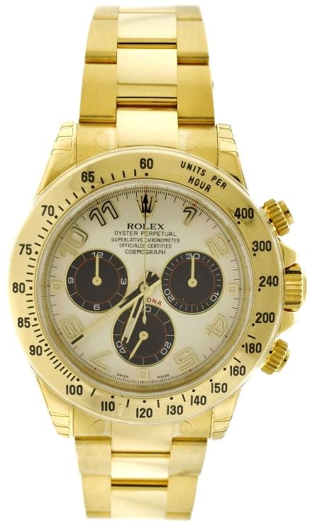 Rolex Daytona 116528 18K Yellow Gold Watch