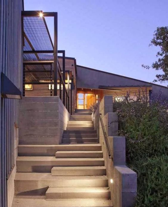 Concrete Stairs Design Ideas Home Stair Picture Exterior: Pinterest • The World's Catalog Of Ideas