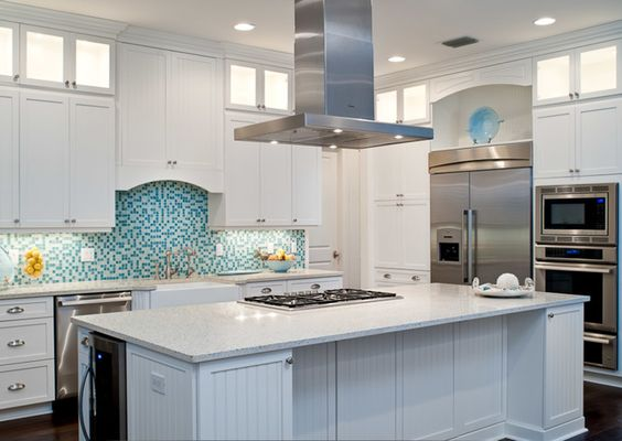 House of Turquoise: RTG Construction | white kitchen