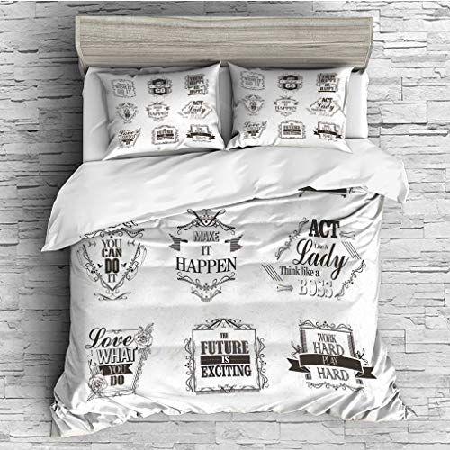 3 Pieces 1 Duvet Cover 2 Pillow Shams All Seasons Home Comforter