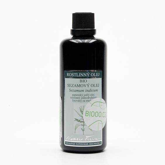 Nobilis Tilia Sezamový olej, bio 100 ml: