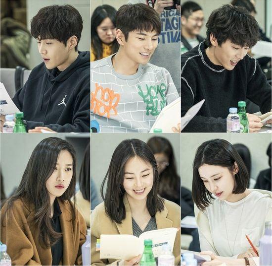 Cast And Crew Hold First Script Read For Jtbc S Woohoo Waikiki Season 2 Dramabeans Korean Drama Recaps Korean Drama Korean Drama Movies Korean Drama Tv