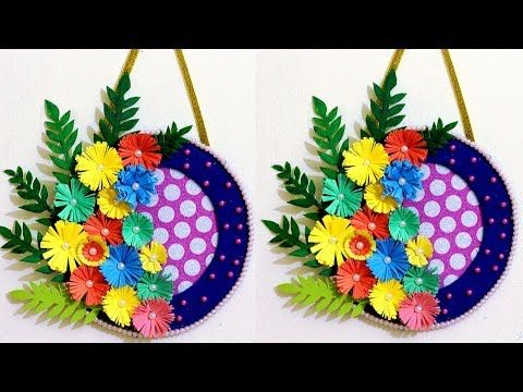 Paper Flower Wall Hanging Hanging Flower Wall Wall Hanging Crafts