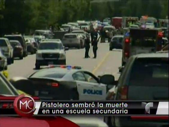 Pistolero Sembro La Muerte En Escuela Secundaria #Video