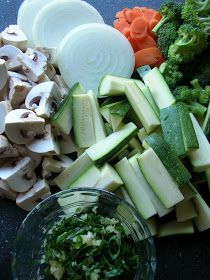 Another Hibachi veggie recipe (also includes how to cook steak for beef fried rice)