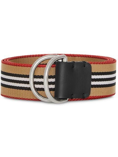 Burberry Heritage Stripe D Ring Belt Farfetch Belt D Ring