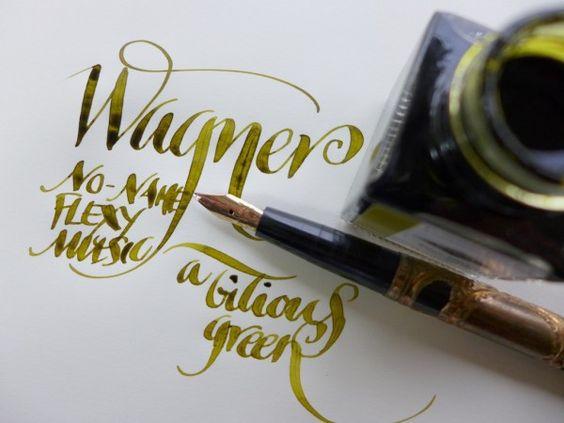 Wagner / music nib / leighreyes blog