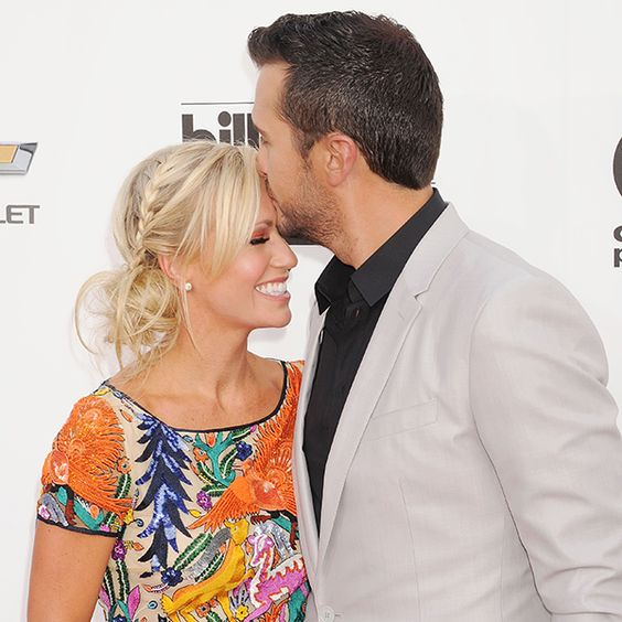Luke Bryan recalls his and his wife Caroline's dating song
