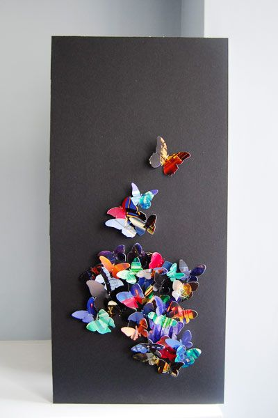 Make Your Own Butterfly Art Artworks Butterfly Art And