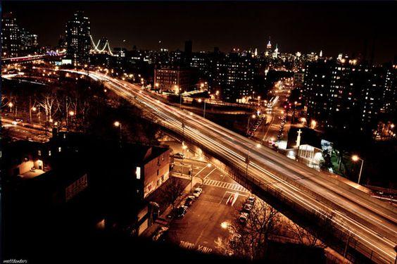Brooklyn Light Trails