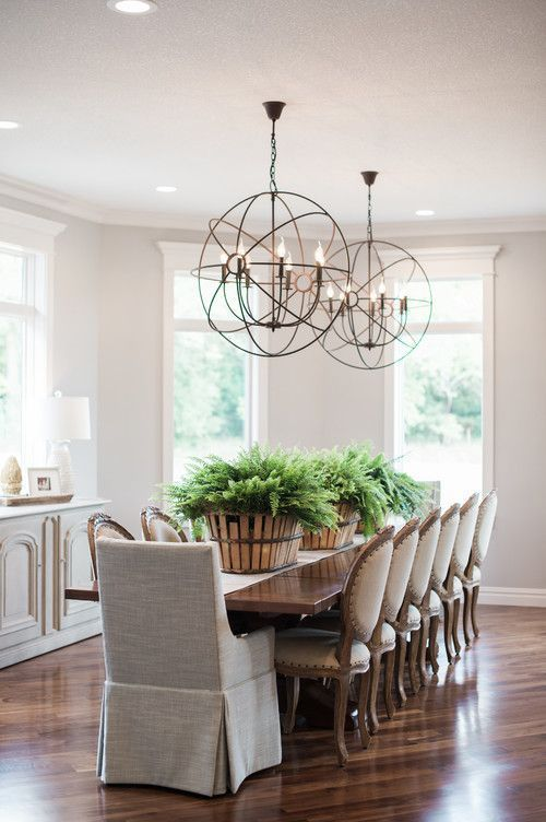 Modern Farmhouse Dining Rooms With Farmhouse Tables Farmhouse Dining Room Lighting Modern Farmhouse Dining Room Farmhouse Dining Rooms Decor